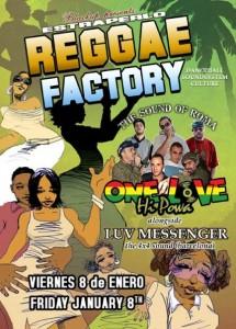 Reggae Factory Flier