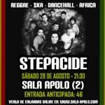 La banda portuguesa Stepacide en la Sala Apolo 2. Barcelona