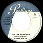Gappy Ranks «Put The Stereo On» disponible en 7″