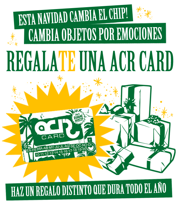 Regala(te) una ACR Card
