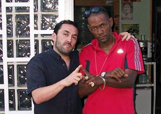 Dubby Ambassah y Horace Martin en A-Lone