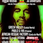 Tributo a Bob Marley. Vitoria-Gasteiz y Bilbao
