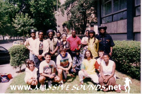 Yabby You, Macka B, Kofi Ariwa & Massive crew en Bilbao (1993)