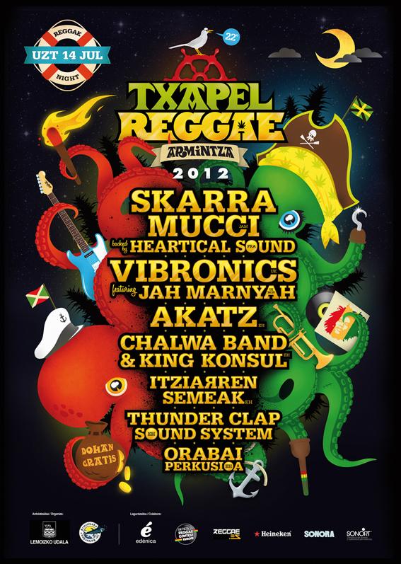 Txapel reggae 2012