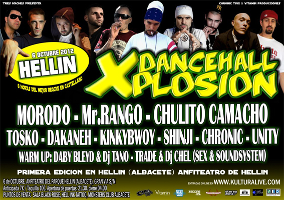 flyer dancehall xplosion