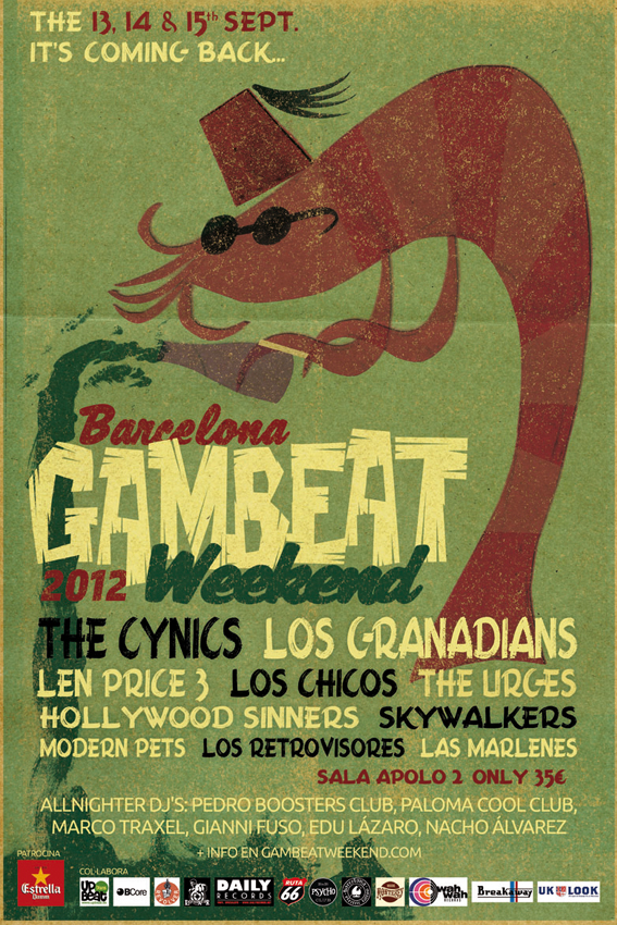 gambeat weekend flyer