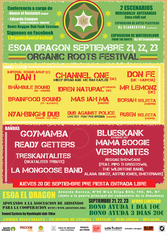 flyer organic roots festival