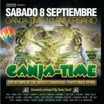 Ganja Time 10º aniversario – Kachafayah & Chalice live session