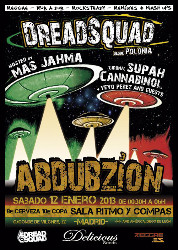 DreadSquad @ ABDUBZION 3 - MADRID - 12 Enero