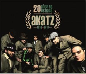 Portada del recopilatorio Akatz - 20 años no es nada