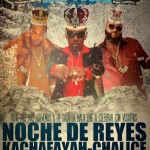 Noche de reyes con Kachafayah y Chalice. Madrid