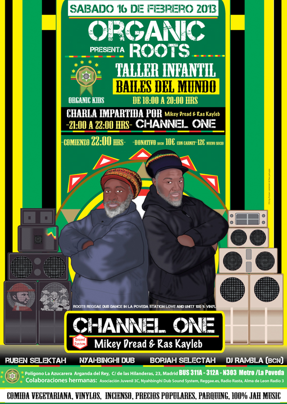 channel one madrid flyer