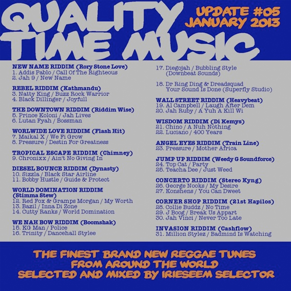 quality time music 5 flyer