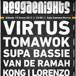 "Van de Ramah presenta ""VII Reggae Nights"""