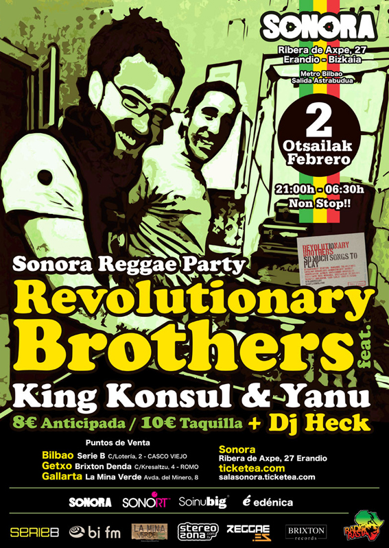revolutionary brothers flyer