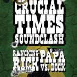 Crucial Times Soundclash: Studio One vs. Treasure Isle [Papa Dick vs. Rancking Rick] el 7 de marzo en Barcelona