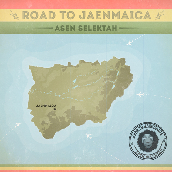 "MIX ACTUAL #3- ASEN SELEKTAH - ""ROAD TO JAENMAICA"" cover1"