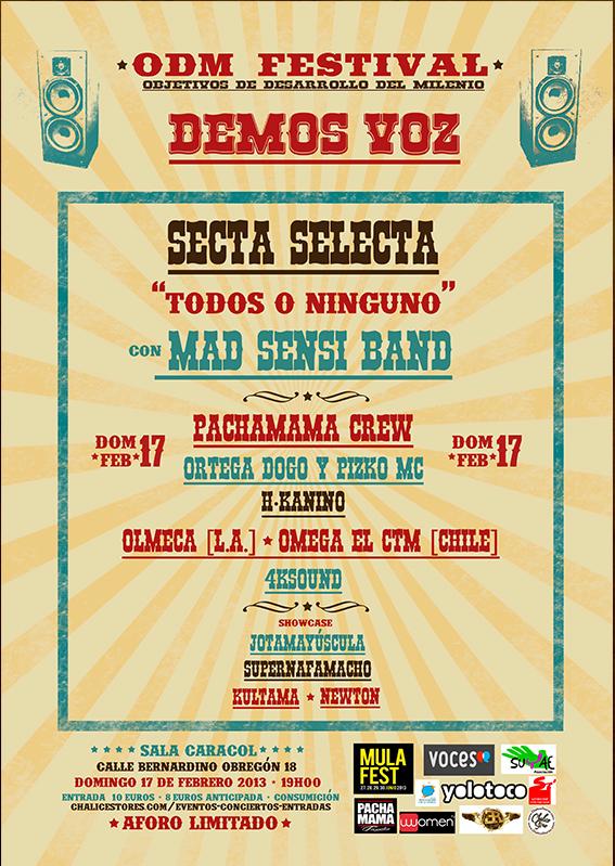 ODM Festival flyer
