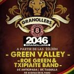 El 8 de marzo Green Valley y Roe Green & Txipiate Band en concierto en Granollers