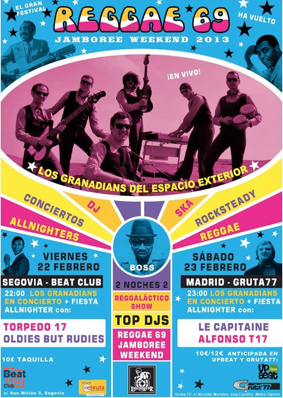 reggae 69 jamboree flyer