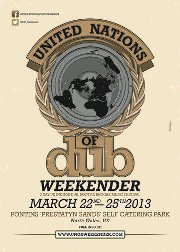 Del 22 al 25 de marzo United Nations of Dub Weekender en UK