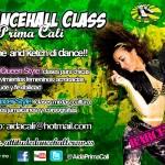 Clases de Dancehall en Barcelona con Prima Cali