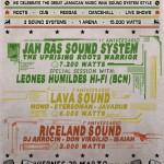El 29 de marzo se reunirán por primera vez en Canarias 15.000 watts de Sound Systems con Jah Ras, Lava Sound, Leones Humildes y Riceland Sound