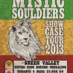 El 9 de marzo Mystic Souldiers, Green Valley, Urtica, King Horror y Borsalino en Vilanova i la Geltrú