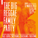 Producciones Psicotrónicas presenta «The big reggae family party» en Madrid el 17 de Marzo