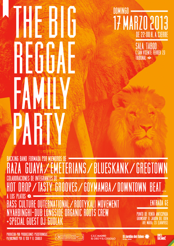 the big reggae family party