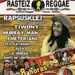 Rasteiz Reggae Festi, 4 de Mayo Vitoria Gasteiz