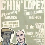 Rubén López & The Diatones + Clive Chin en Madrid
