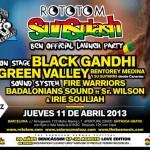 Fiesta de presentación del Rototom Sunsplash 2013 en Barcelona