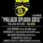 Palloza Splash, anticipo del ReggaeBoa 2013, el 4 de mayo en Balboa (Lugo)