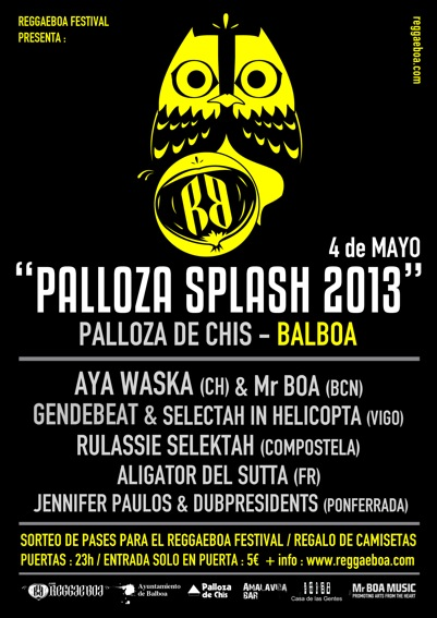 Cartel plloza splash