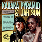 Pull Up Wear, Rhythm & Flow y Buxna Agency presentan «Foundation Tour» la gira europea de Kabaka Pyramid & Jah Sun