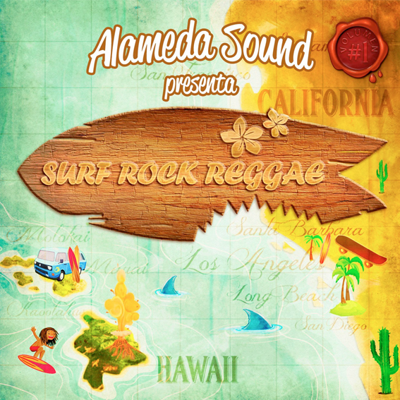 alameda sound surf rock reggae