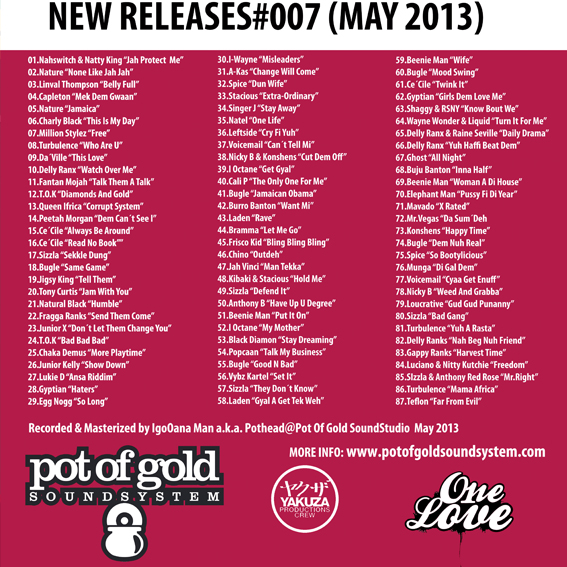 pot of gold new releases
