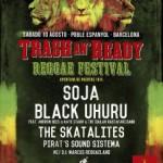 Fiesta presentación Trash an´ Ready Reggae festival, en Rita Blue con Supa Bassie y U-rie+ Reggae land Dj´s