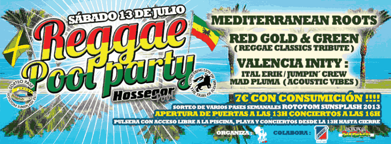 reggae pool party