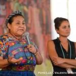 Rigoberta Menchú: No basta tener una utopía, hay que luchar por ella toda la vida