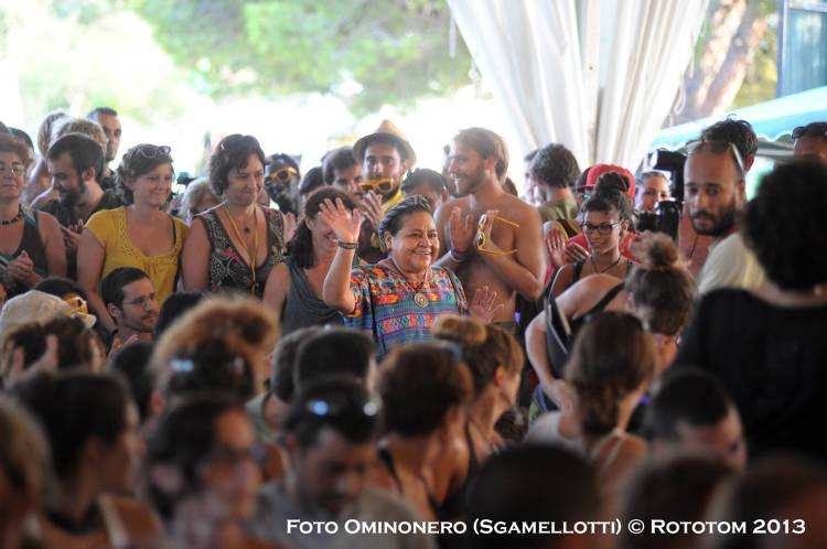 Foro Social / Rigoberta Menchu