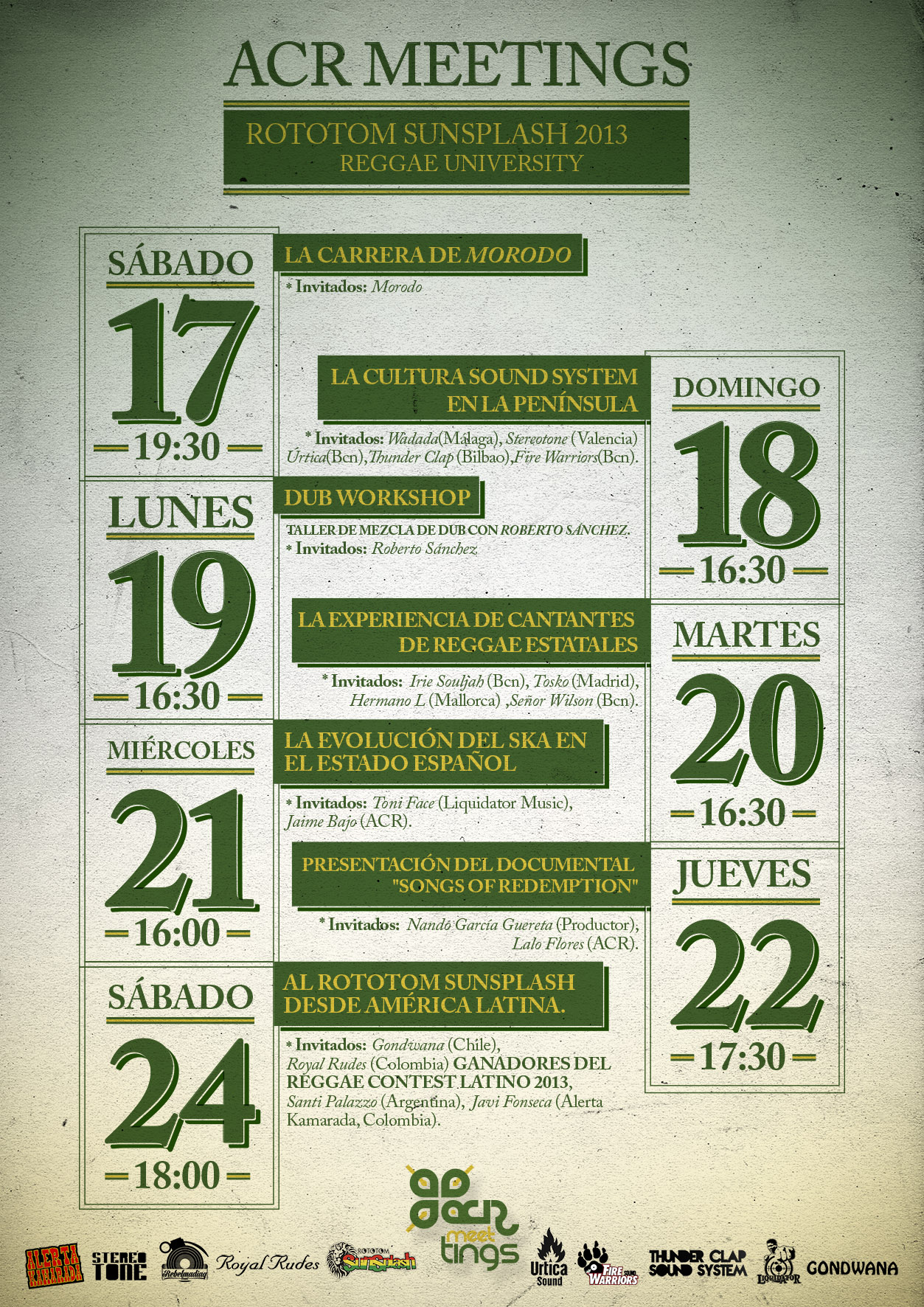 cartel acr meetings 2013 REDES SOCIALES