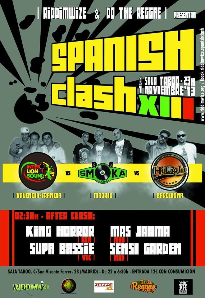 1 de Noviembre Spanish Clash