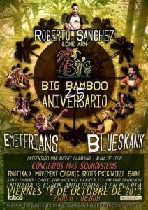 18 de octubre Rober, emet, blueskank