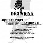 """Admiral Tibet, Vibronics y Anthony B se unen para editar este EP de 8 temas para Segnale Digitale llamado """"Digi.Signa"""""""