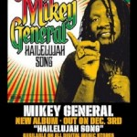 Hailelujah Song el nuevo trabajo de Mikey General, disponible el 3 de Diciembre en plataformas digitales