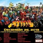 Sting cumple 30 años el 26 de Diciembre junto a Super Cat, Ninja Man y 2 Chainz entre otros.