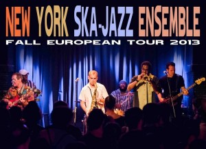The New York Ska-Jazz Ensemble fall european tour 2013. Ven por solo 6€ (todas las fechas) con tu ACR Card