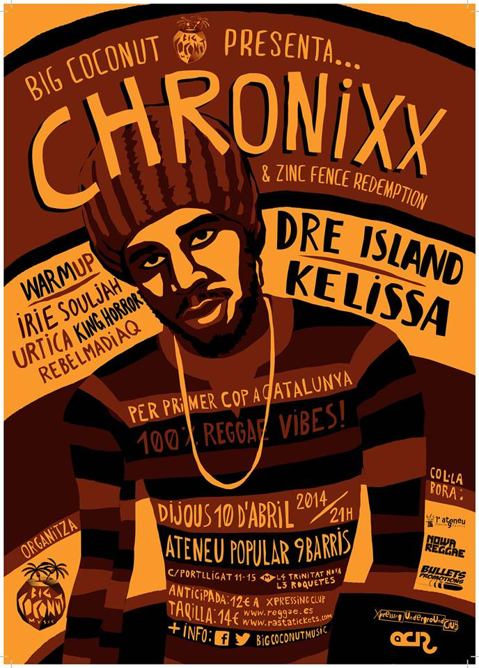 cartel-chronixx-barcelona-2014